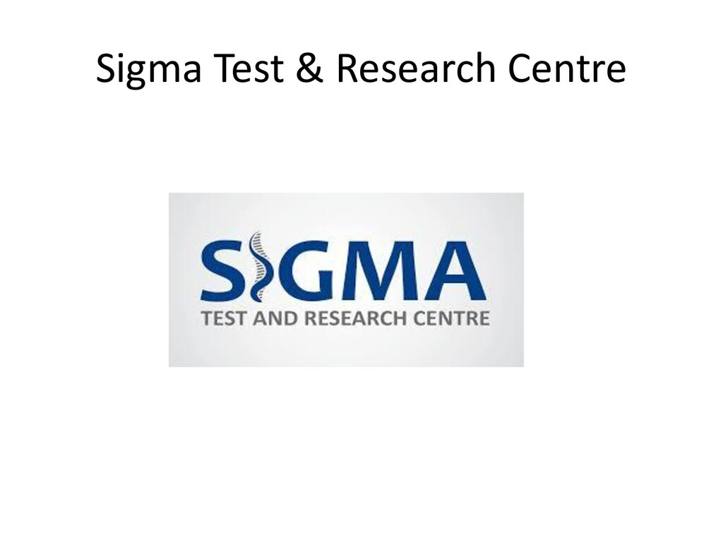 Sigma Test & Research Centre