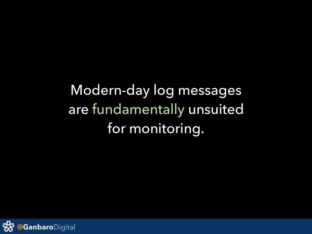@GanbaroDigital Modern-day log messages are fun...