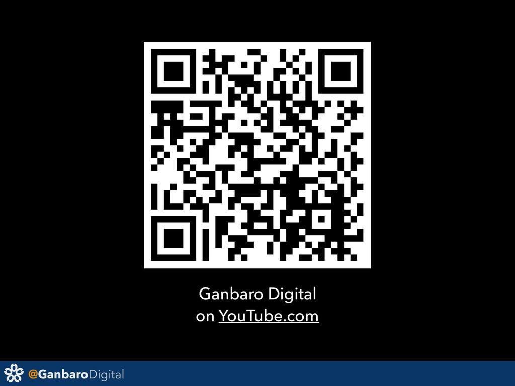 @GanbaroDigital Ganbaro Digital on YouTube.com