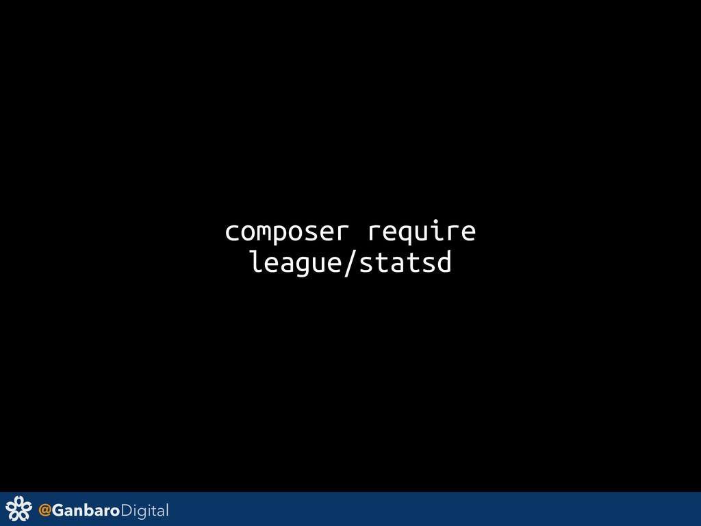 @GanbaroDigital composer require league/statsd