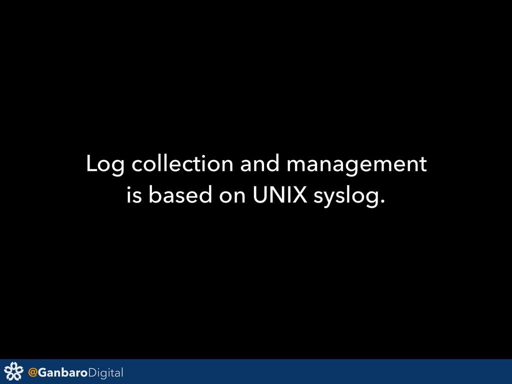 @GanbaroDigital Log collection and management i...