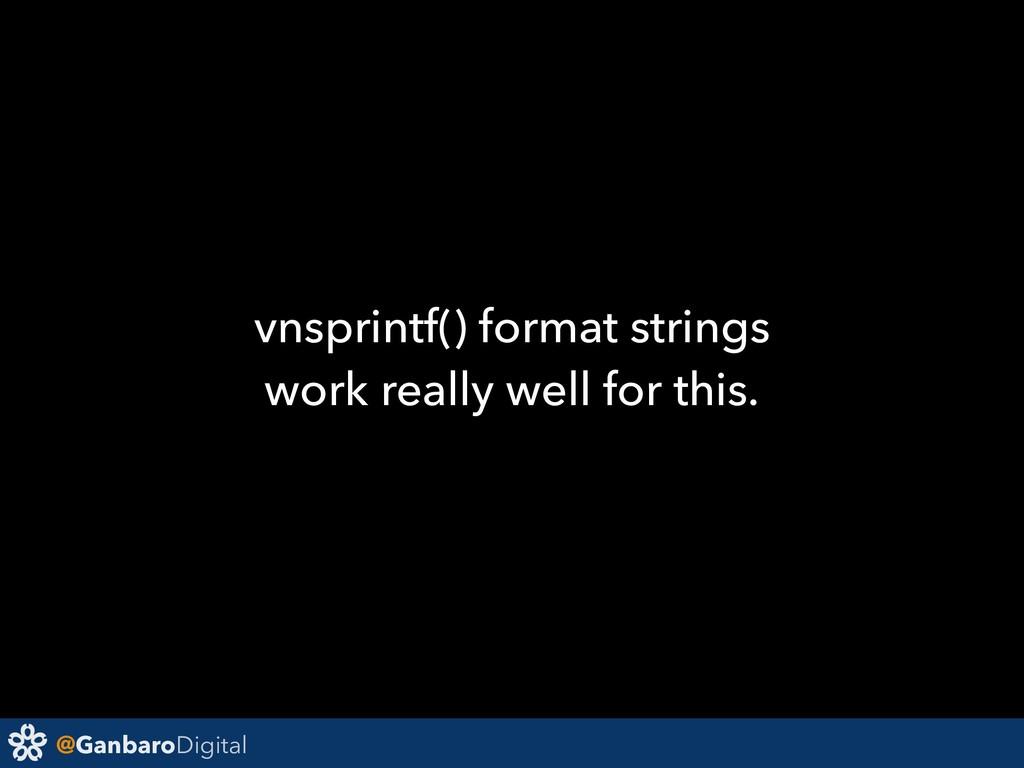 @GanbaroDigital vnsprintf() format strings work...