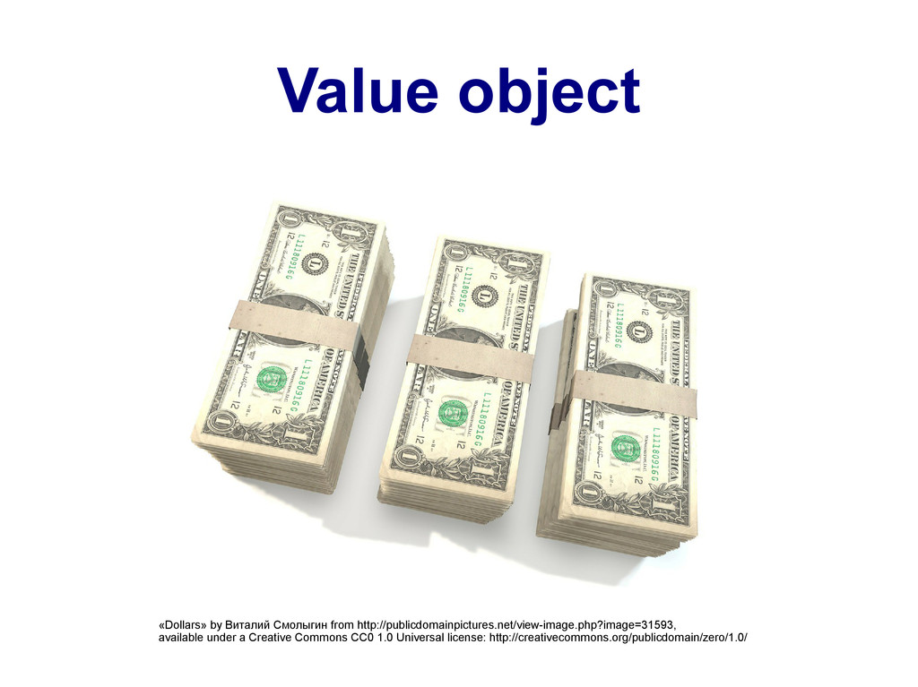 Value object «Dollars» by Виталий Смолыгин from...