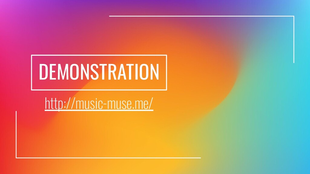 http://music-muse.me/ DEMONSTRATION