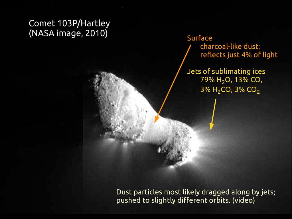 Comet 103P/Hartley (NASA image, 2010) Surface c...