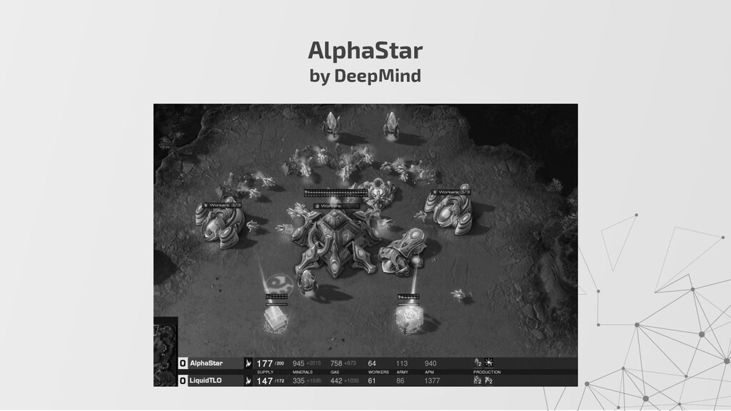 AlphaStar by DeepMind