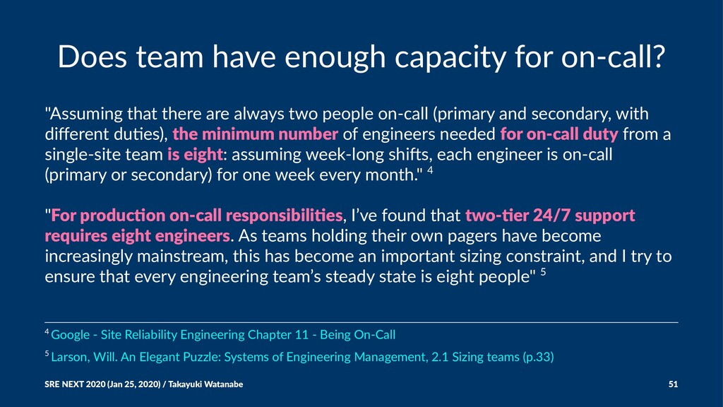 "Does team have enough capacity for on-call? ""As..."