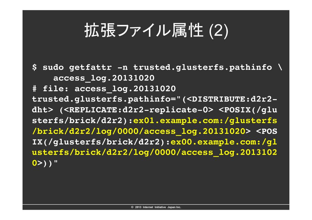 ©ɹ2013 Internet Initiative Japan Inc. ֦ுϑΝΠϧଐ...