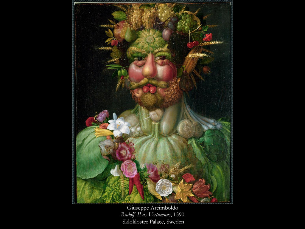 Giuseppe Arcimboldo Rudolf II as Vertumnus, 159...