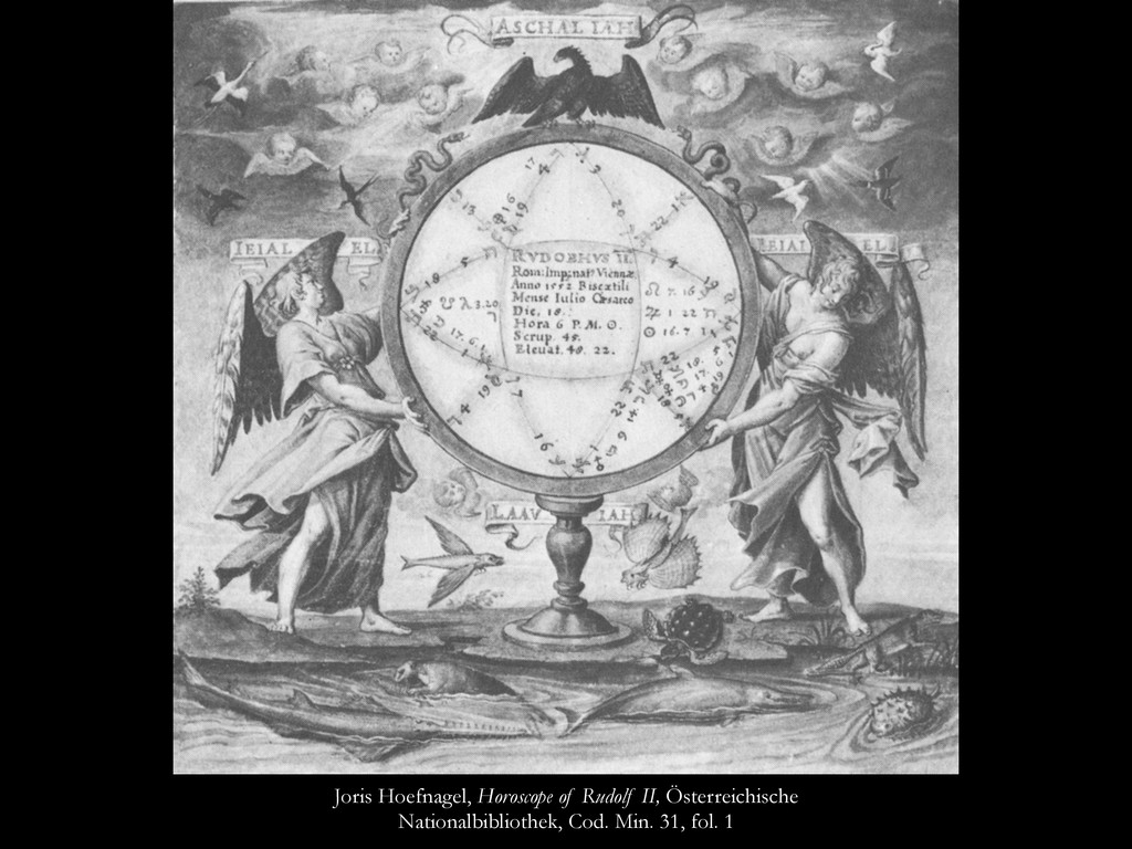 Joris Hoefnagel, Horoscope of Rudolf II, Österr...