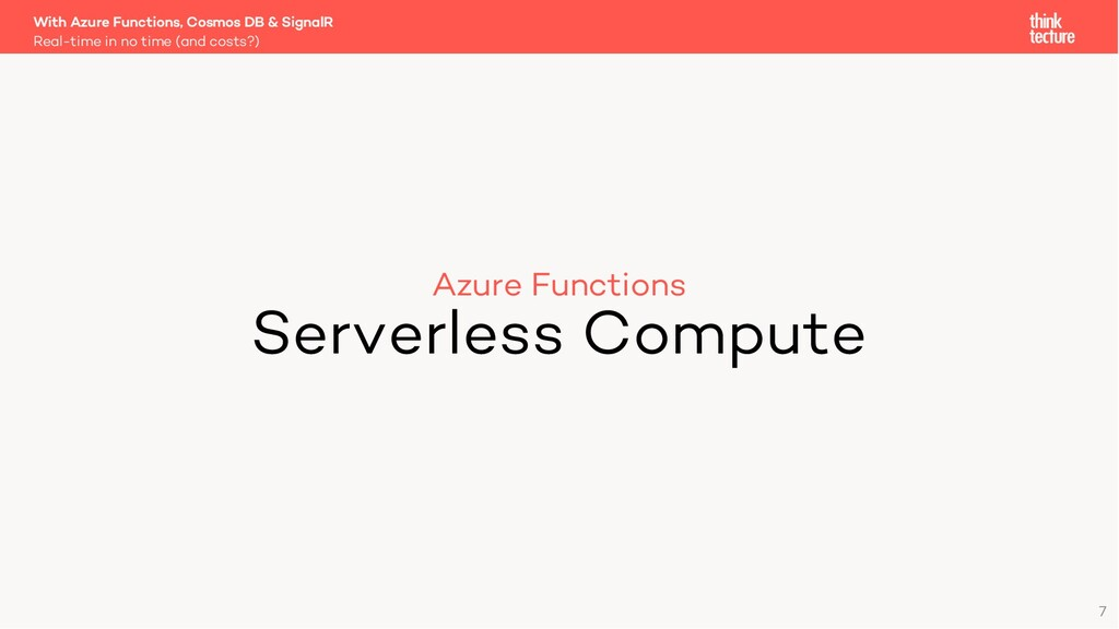 Azure Functions Serverless Compute Real-time in...