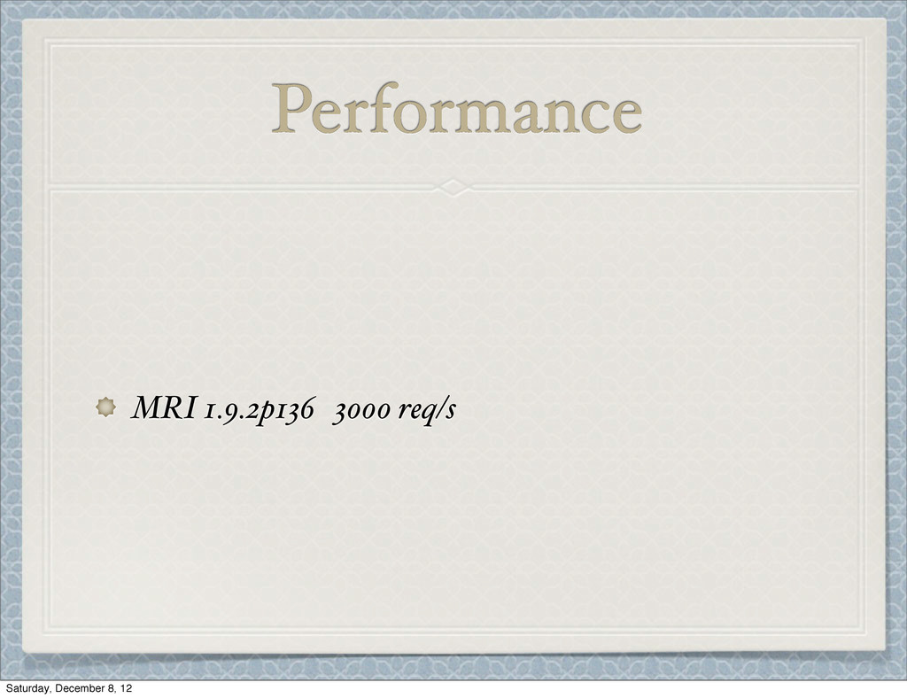 Performance MRI 1.9.2p136 3000 req/s Saturday, ...