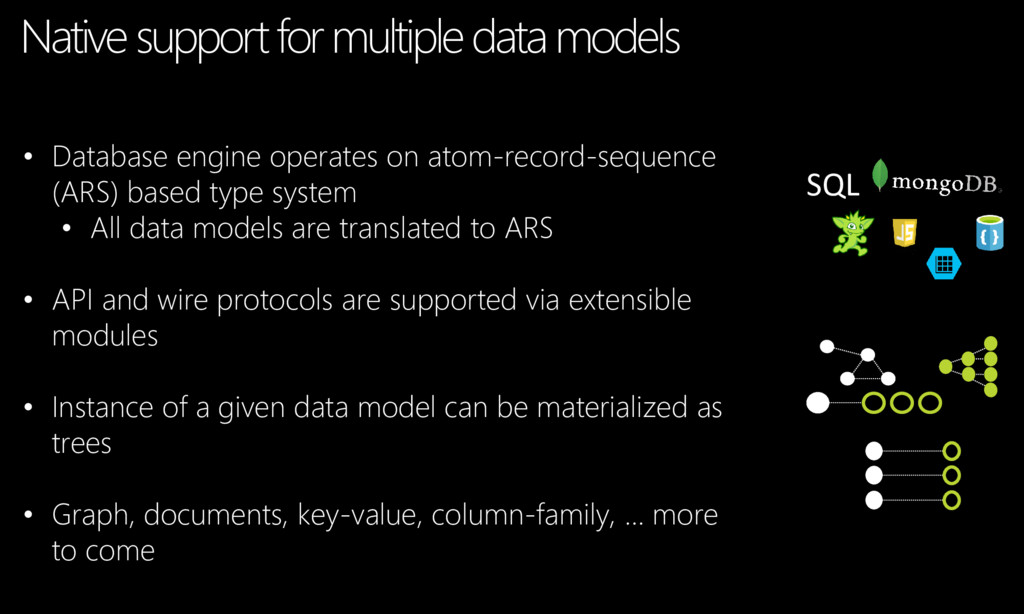 • Database engine operates on atom-record-seque...