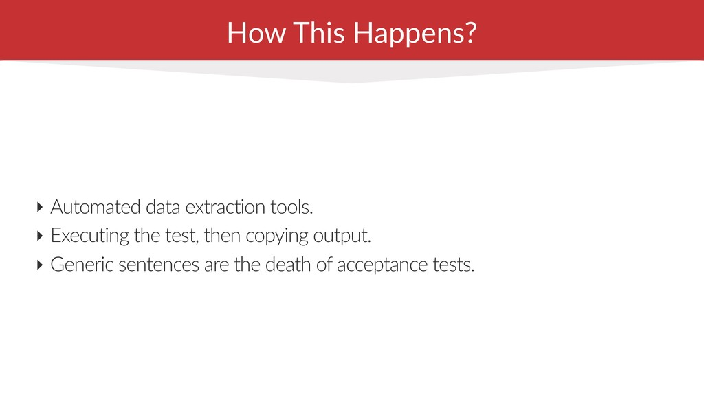 How This Happens? ‣ Automated data extraction t...