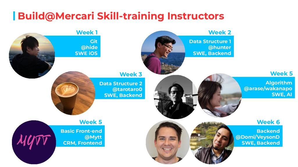 Build@Mercari Skill-training Instructors Git @h...