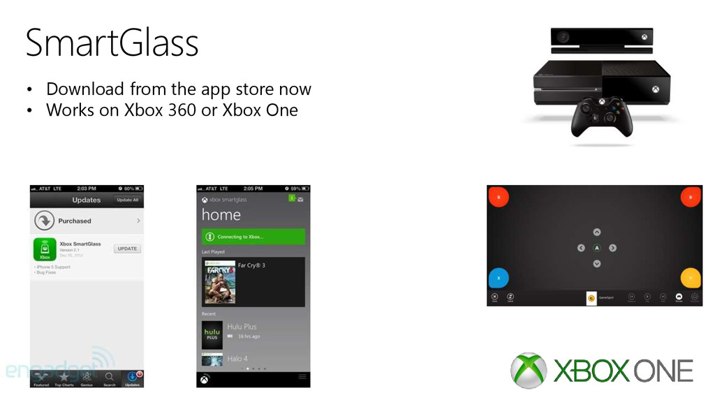 SmartGlass • Download from the app store now • ...