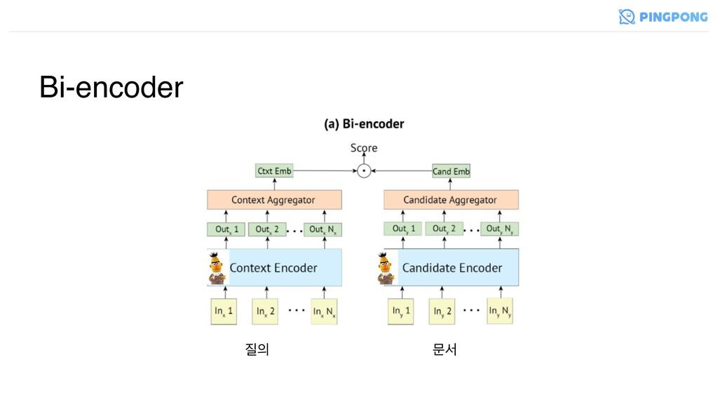 Bi-encoder  ޙࢲ