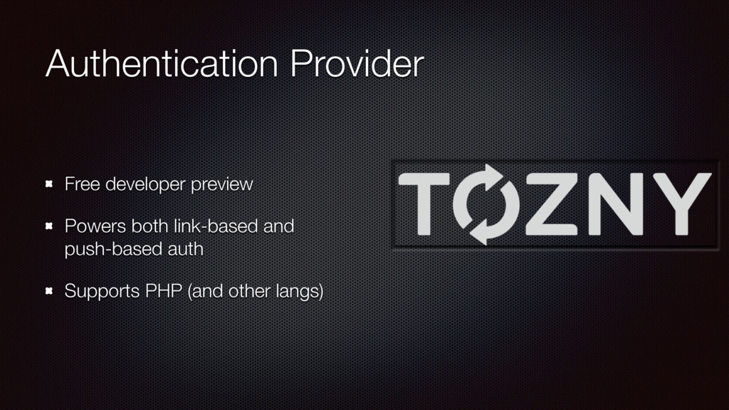 Authentication Provider Free developer preview ...