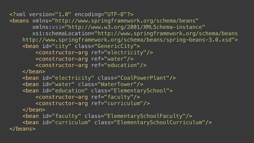 "<?xml version=""1.0"" encoding=""UTF-8""?> <beans ..."
