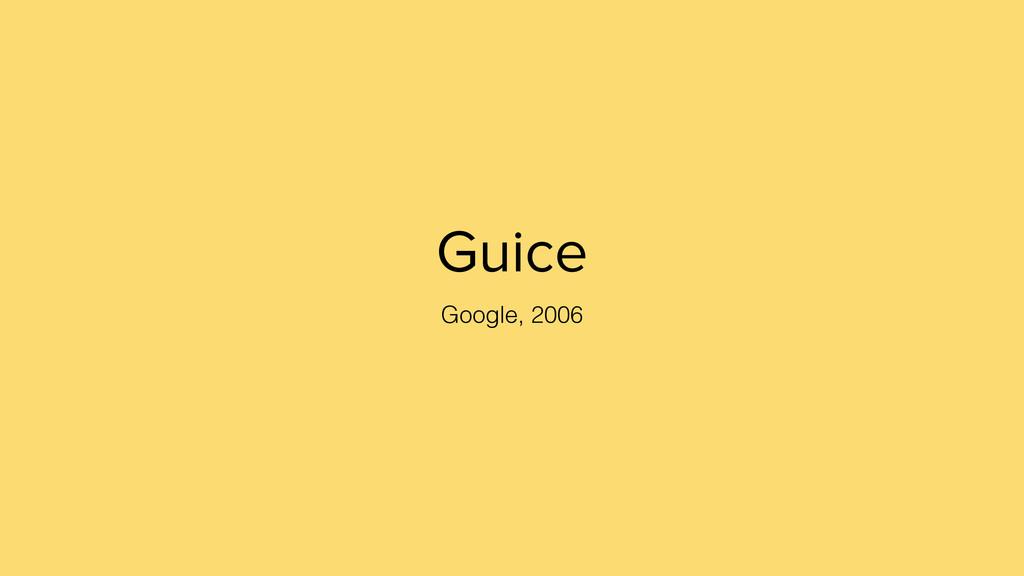 Guice Google, 2006