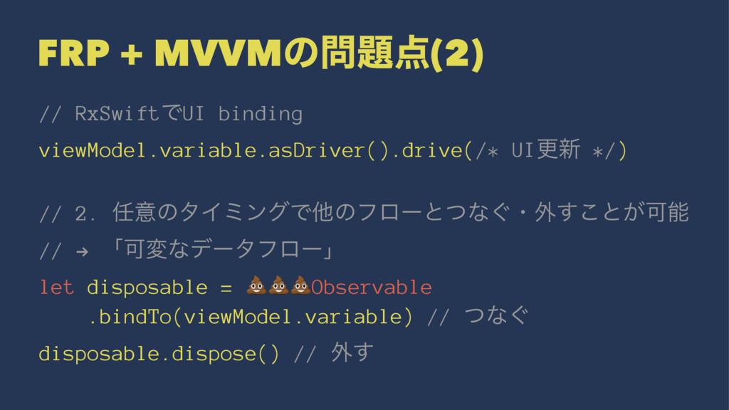 FRP + MVVMͷ(2) // RxSwiftͰUI binding viewMod...