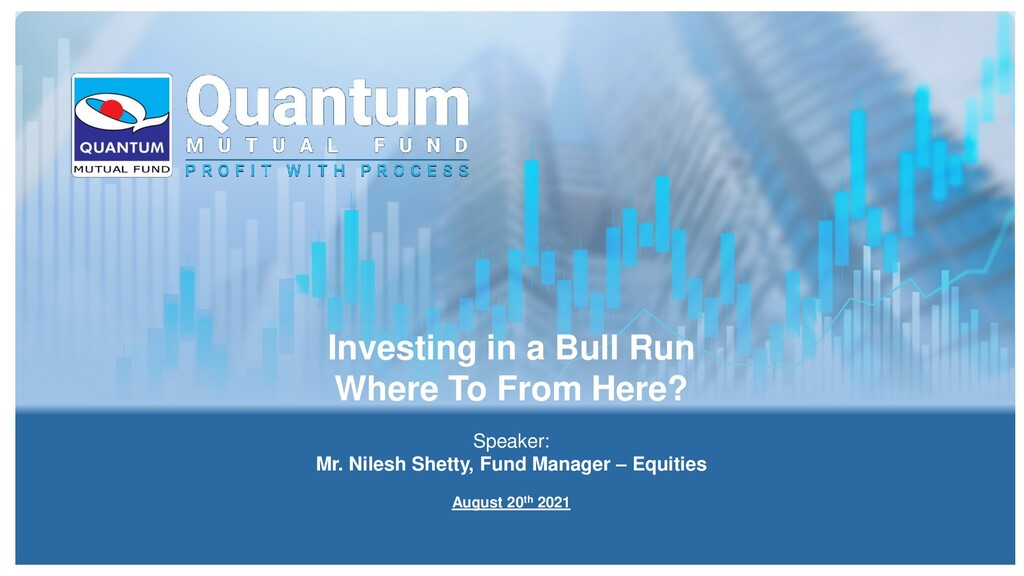 Investing in a Bull Run Where To From Here? Spe...