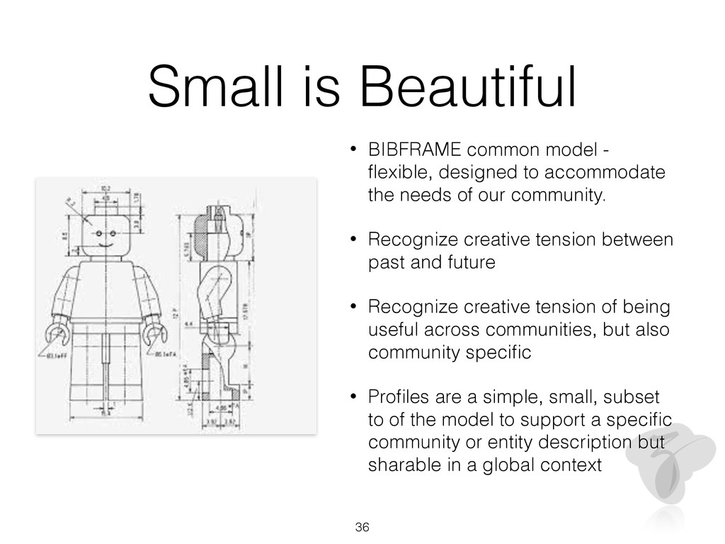 Small is Beautiful • BIBFRAME common model - fle...