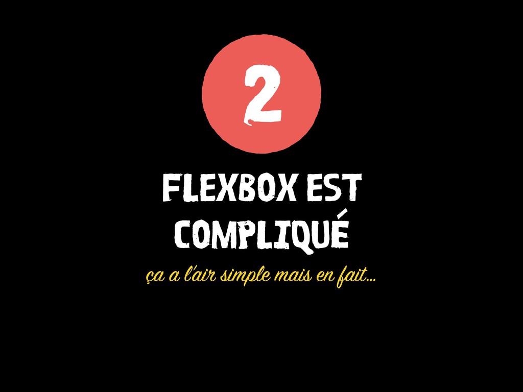 FLEXBOX EST COMPLIQUÉ ça a l'air simple mais en...