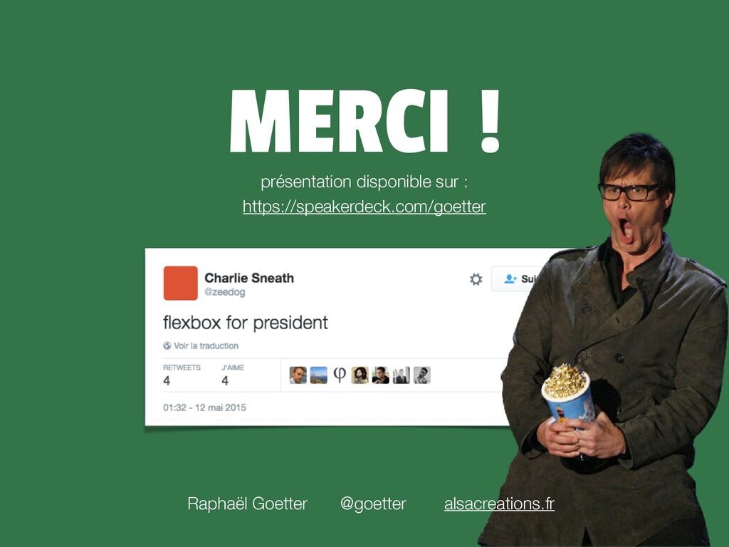 MERCI ! @goetter alsacreations.fr Raphaël Goett...