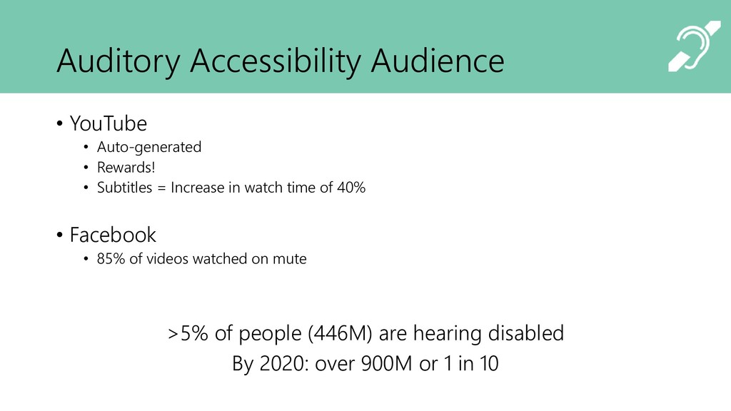 Auditory Accessibility Audience • YouTube • Aut...