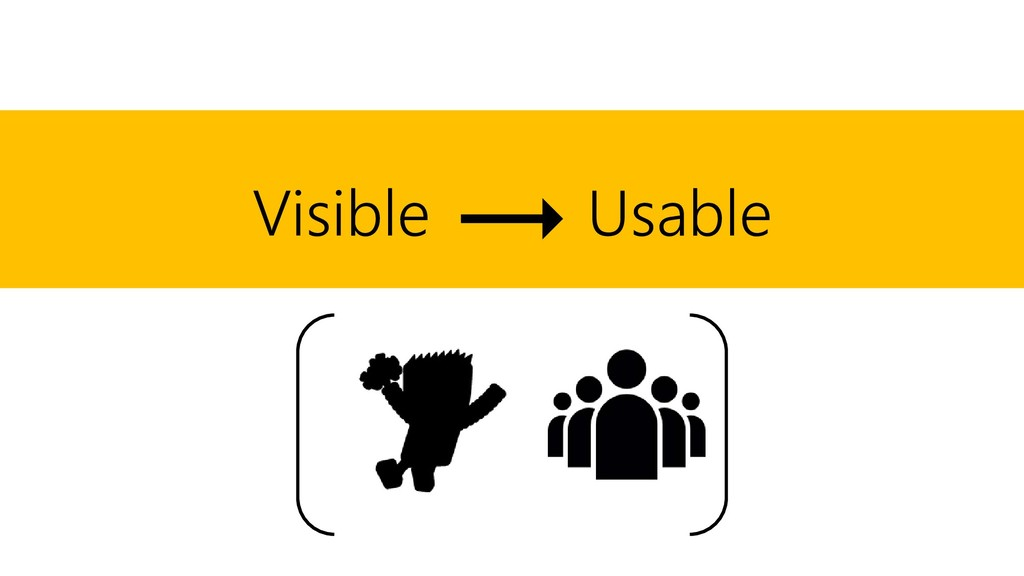 Visible Usable