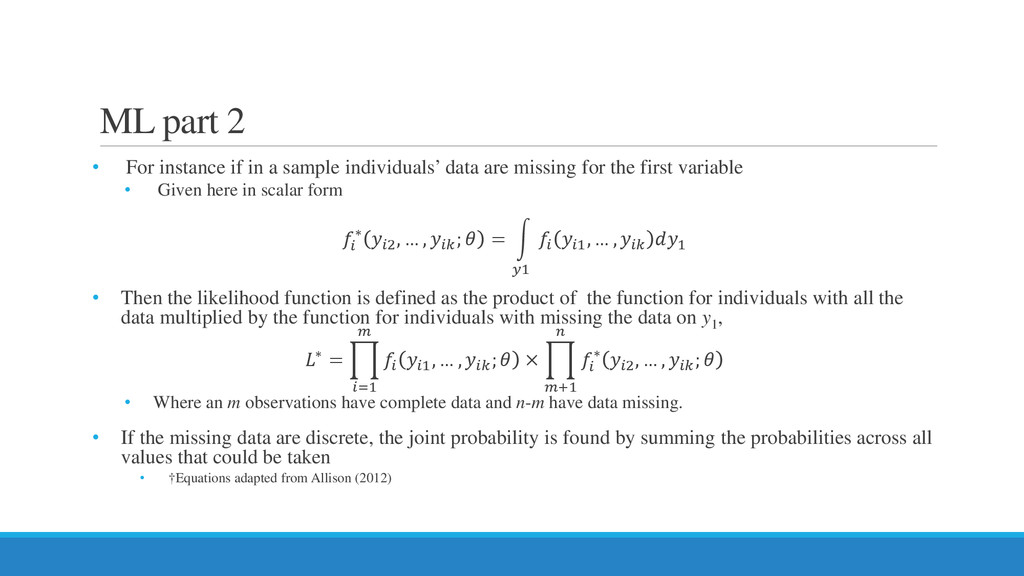 ML part 2 • For instance if in a sample individ...