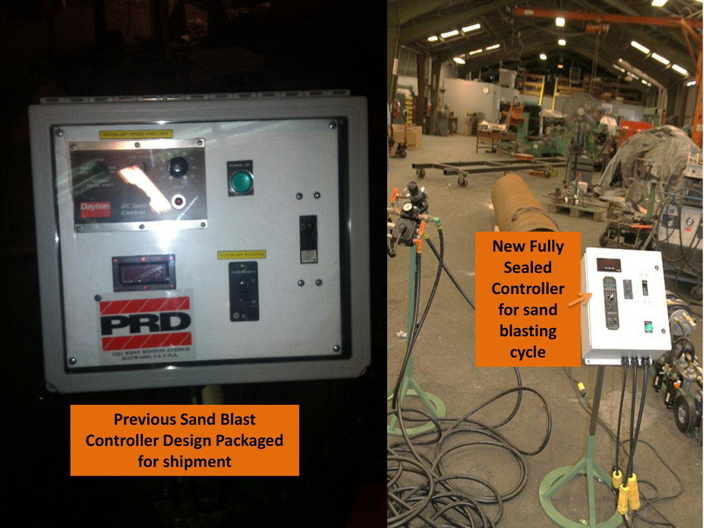 Previous Sand Blast Controller Design Packaged ...