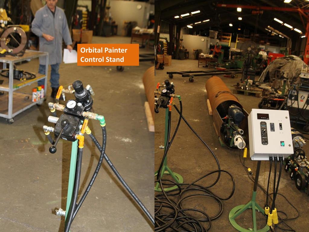 Orbital Painter Control Stand