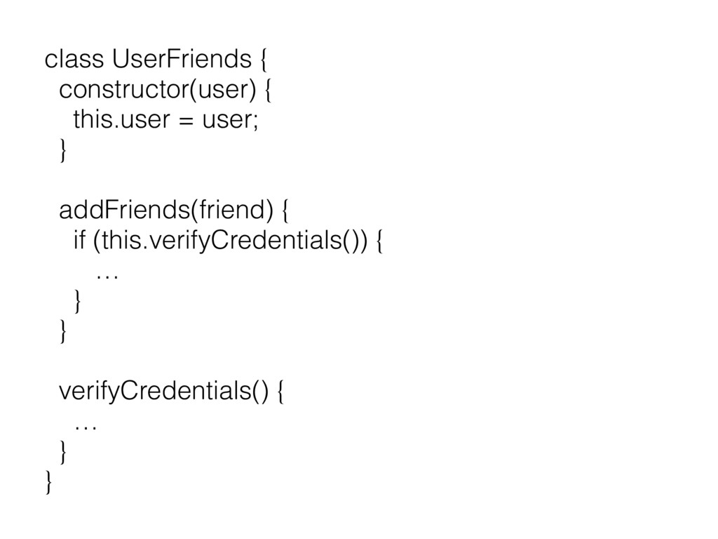 class UserFriends { constructor(user) { this.us...
