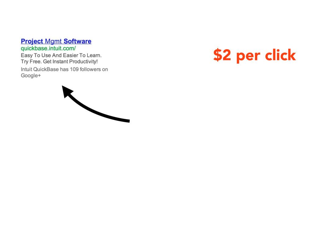 $2 per click
