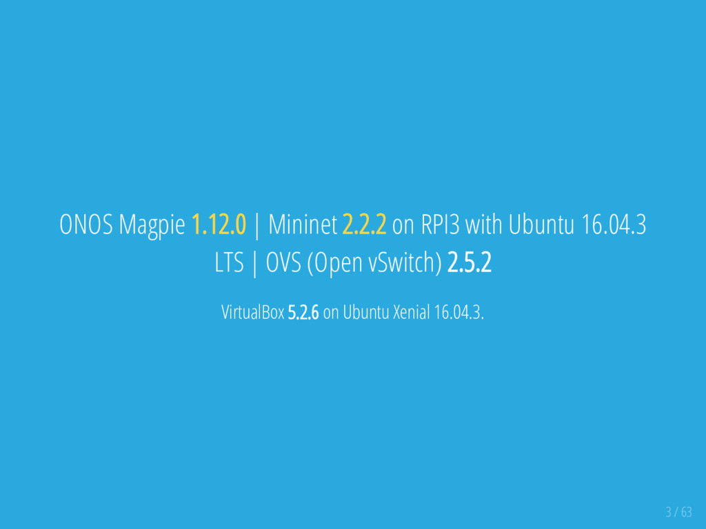 ONOS Magpie 1.12.0   Mininet 2.2.2 on RPI3 with...