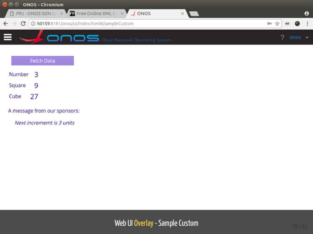 Web UI Overlay - Sample Custom 59 / 63