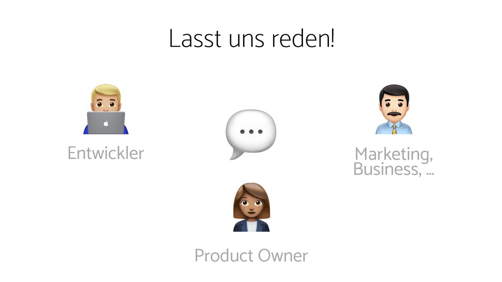 Lasst uns reden!   Product Owner Marketing, Bu...