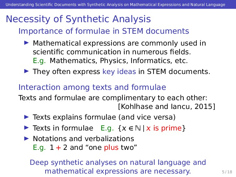 Understanding Scientific Documents with Syntheti...