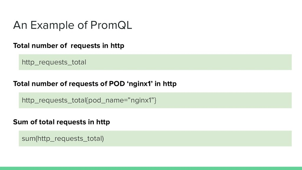 An Example of PromQL http_requests_total Total ...