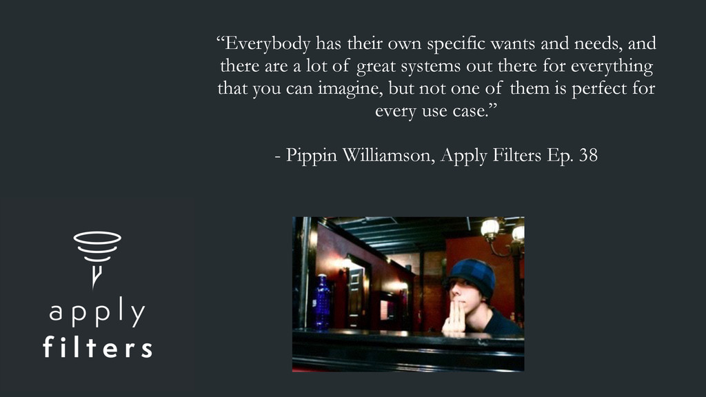 """""""Everybody has their own specific wants and nee..."""