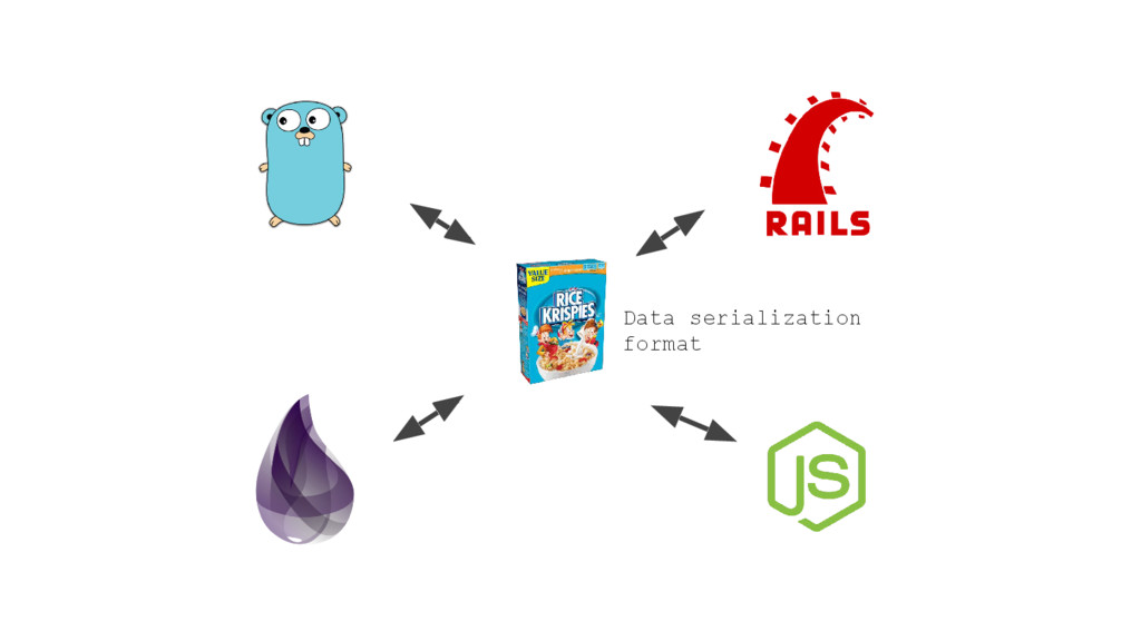 Data serialization format