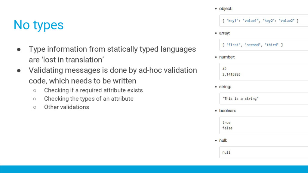 ● Type information from statically typed langua...