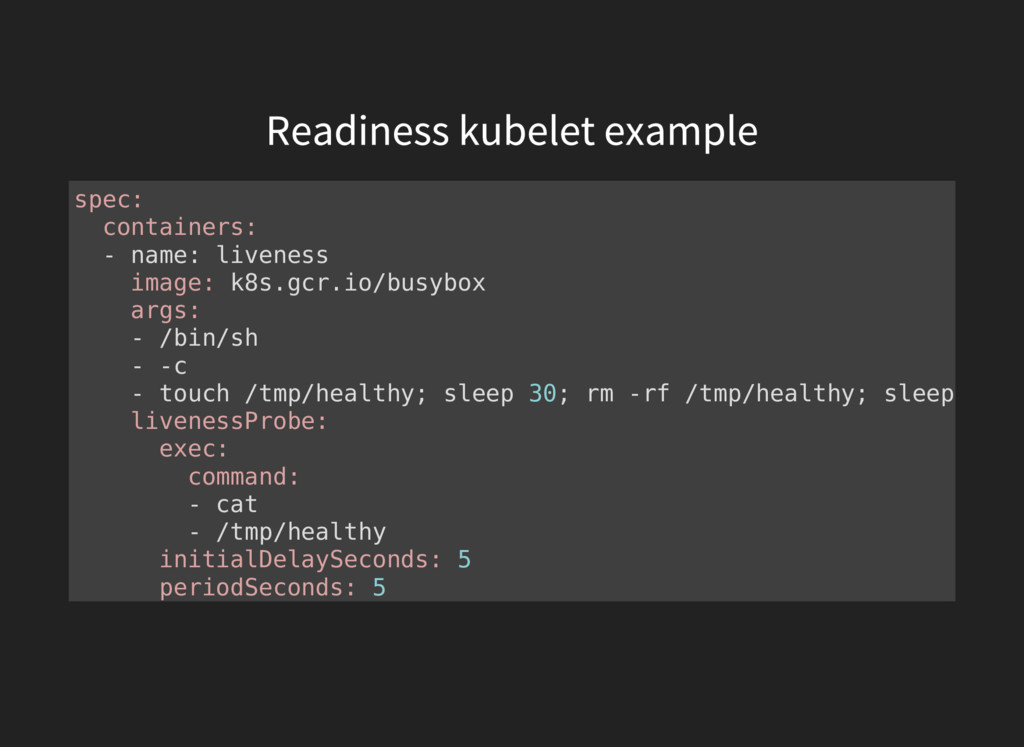 spec: containers: - name: liveness image: k8s.g...