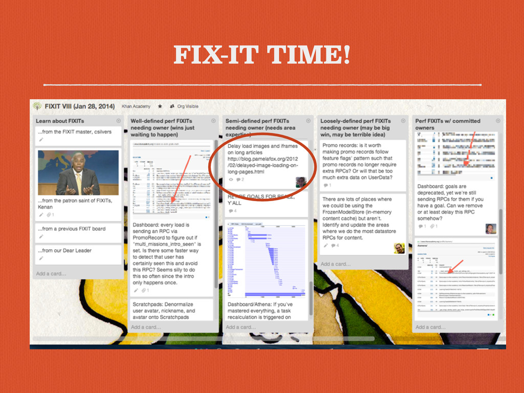FIX-IT TIME!
