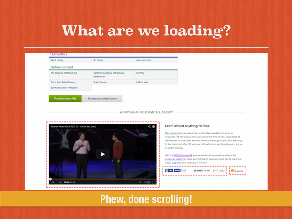 What are we loading? Phew, done scrolling!