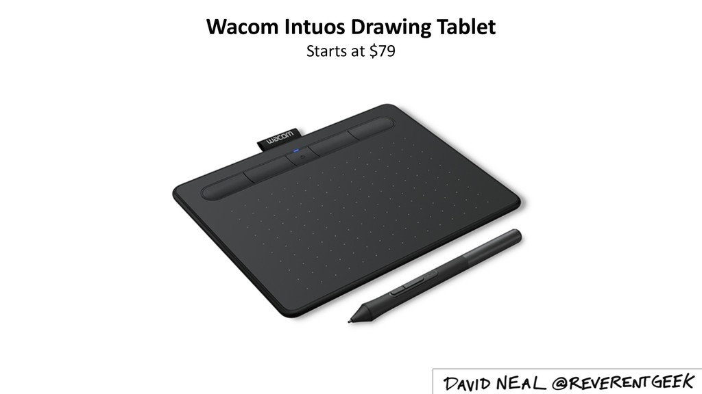 Wacom Intuos Drawing Tablet Starts at $79