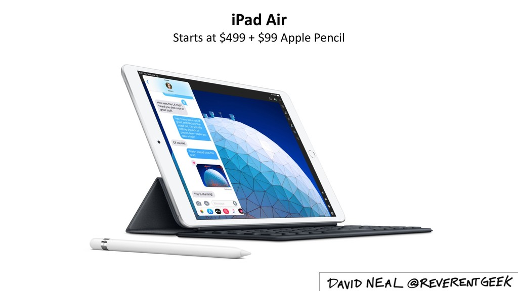iPad Air Starts at $499 + $99 Apple Pencil
