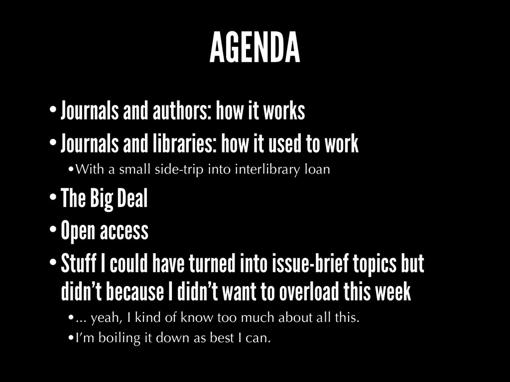 AGENDA •Journals and authors: how it works •Jou...